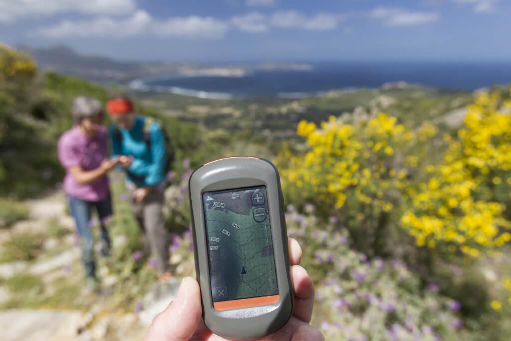 Geocaching em Portugal.