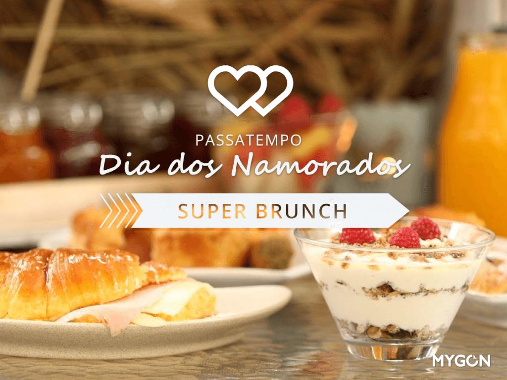 Passatempo Dia dos Namorados: Super Brunch no Páteo de Lisboa.