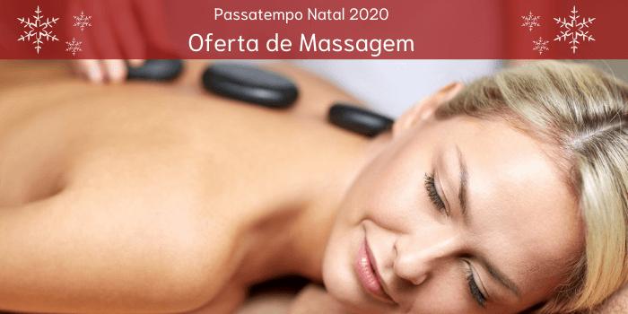 Passatempo Natal 2020: Ganha uma massagem